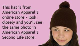 American Apparel hat