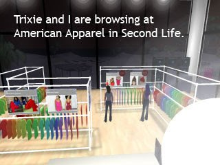 Second Life browsing