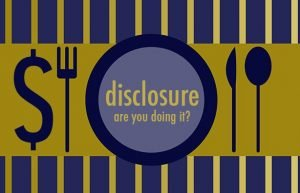 The value of disclosure in social media