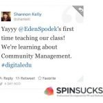 A week of firsts… #digitaledu, Storify and Spin Sucks