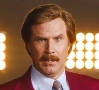 Will Farrell as Ron Burgundy