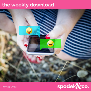 The Weekly Download – July 19, 2019