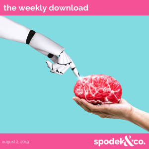 The Weekly Download – August 2, 2019