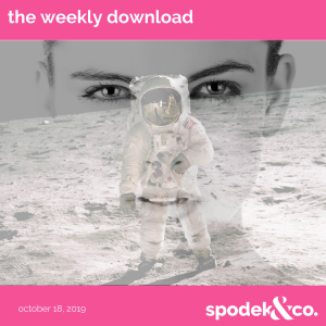 The Weekly Download – October 18, 2019