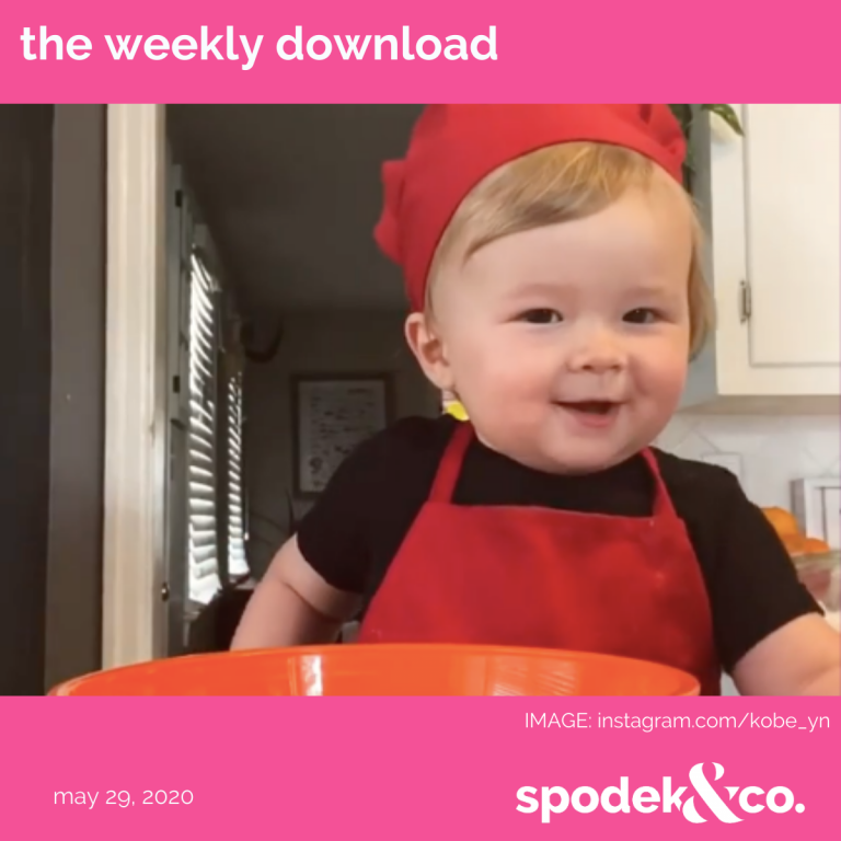 The Weekly Download – May 29, 2020