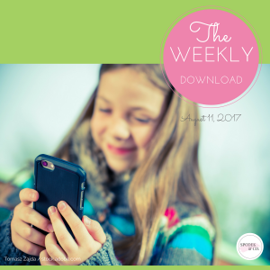 The Weekly Download – August 11, 2017