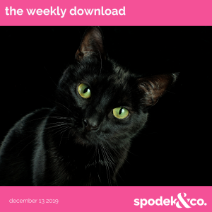 The Weekly Download – December 13, 2019