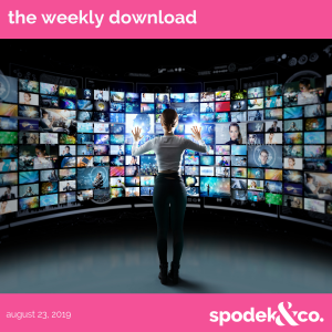 The Weekly Download – August 23, 2019