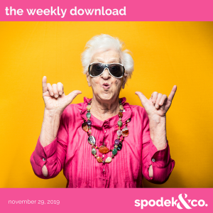 The Weekly Download – November 29, 2019