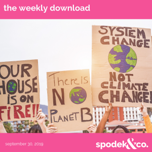 The Weekly Download – September 30, 2019