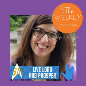 The Weekly Download – September 9, 2016