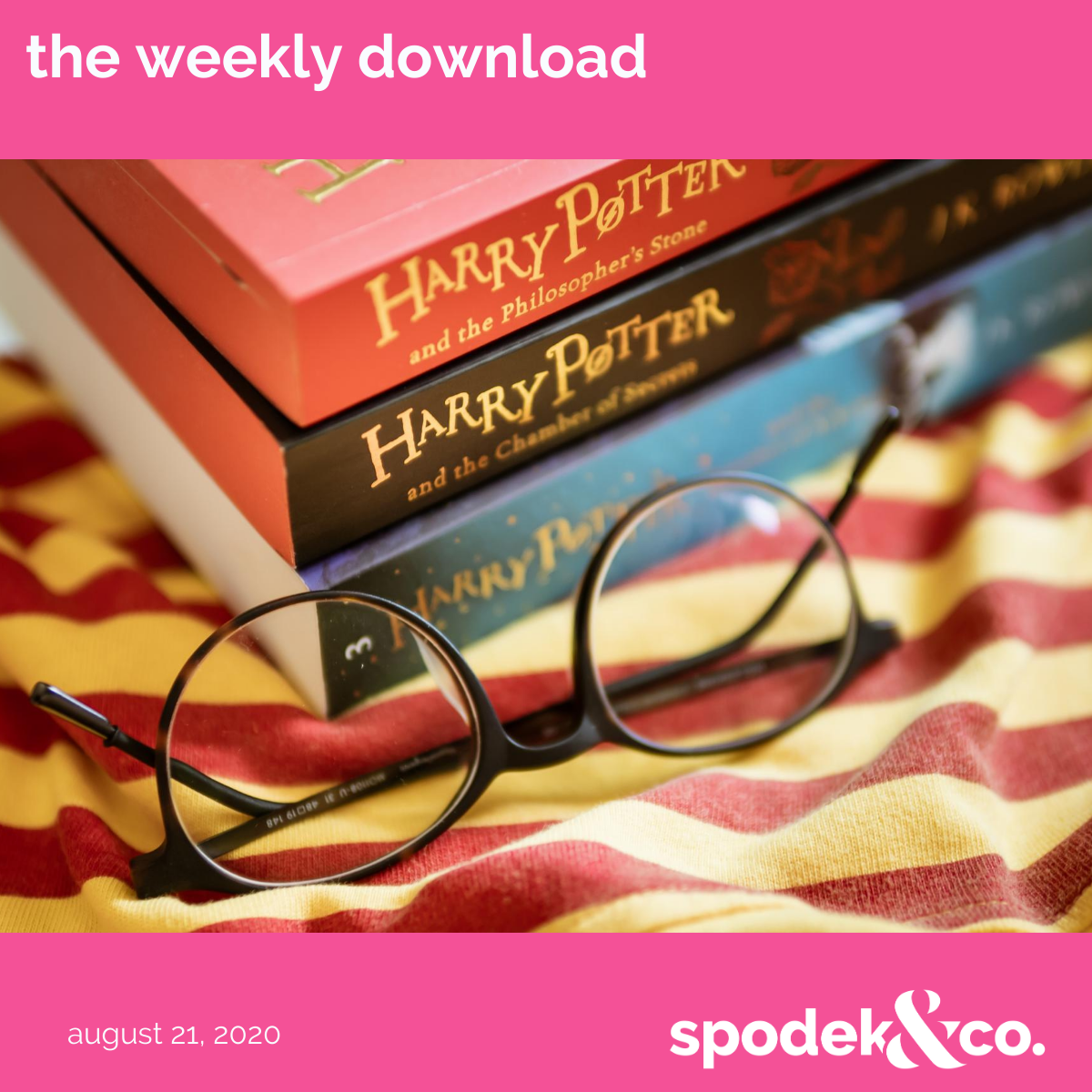 The Weekly Download – August 21, 2020