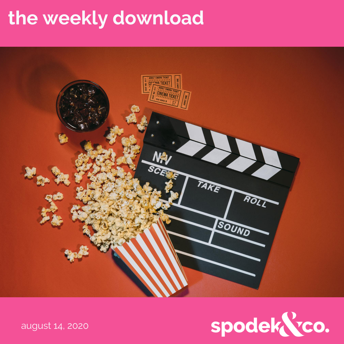 The Weekly Download – August 14, 2020