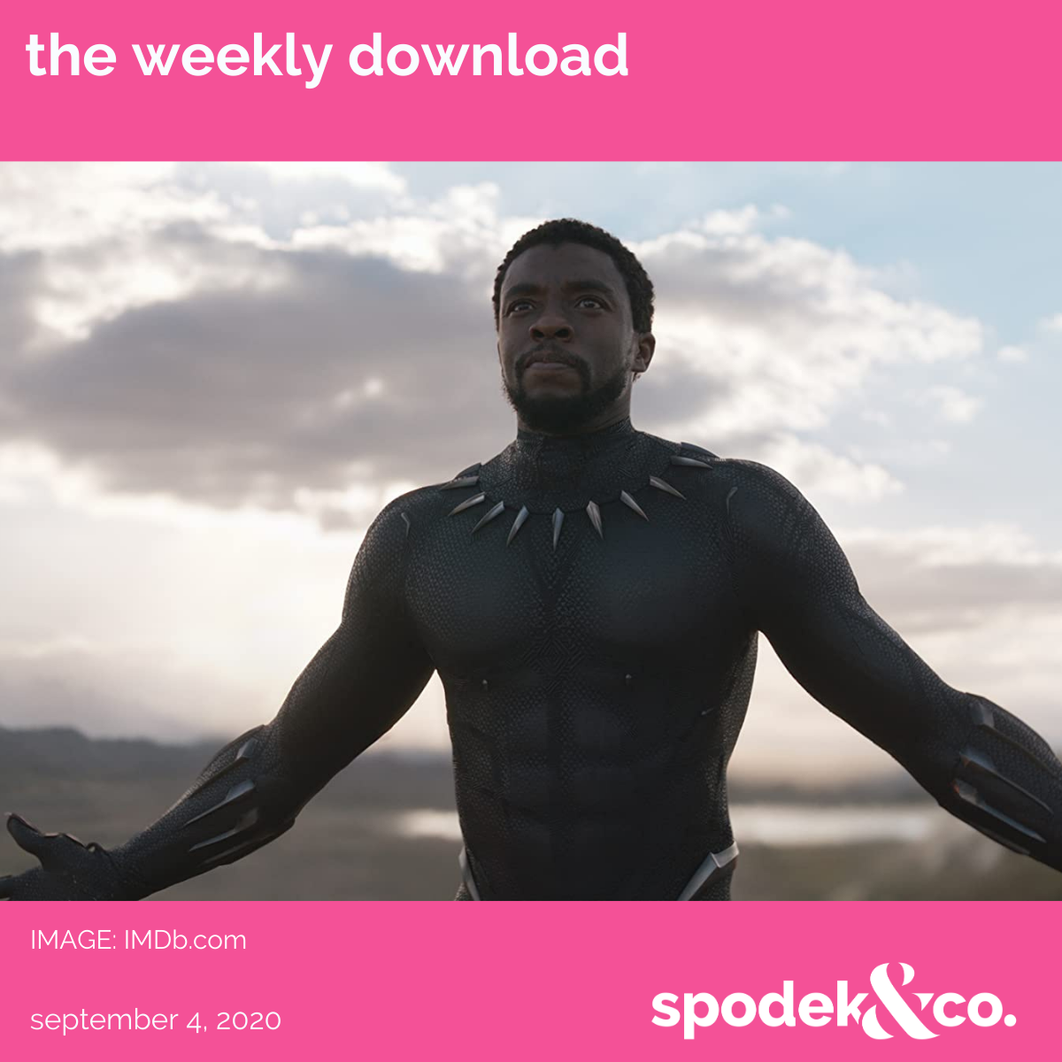 The Weekly Download – September 4, 2020