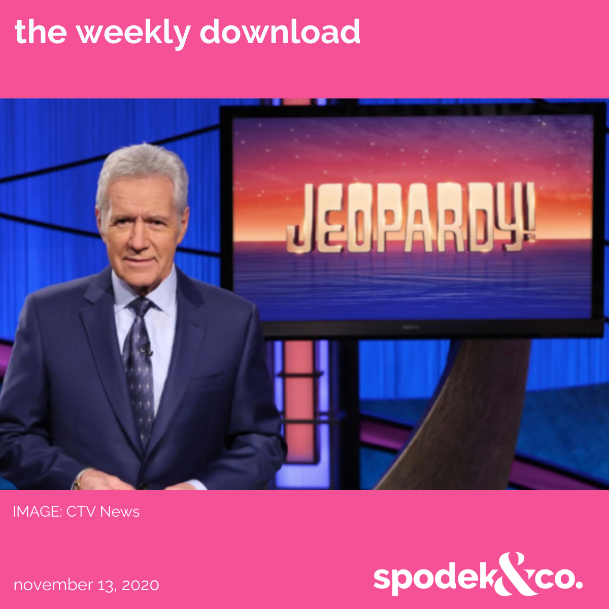 The Weekly Download – November 13, 2020
