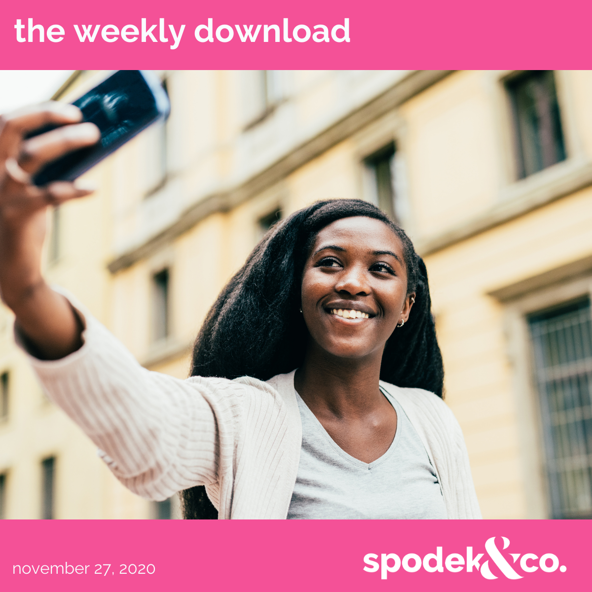 The Weekly Download – November 27, 2020