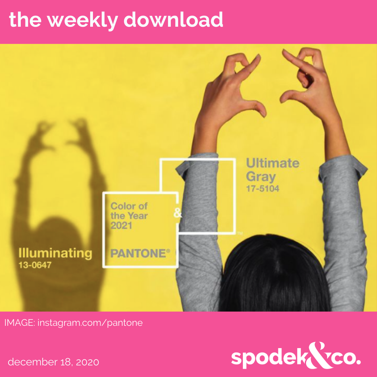 The Weekly Download – December 18, 2020
