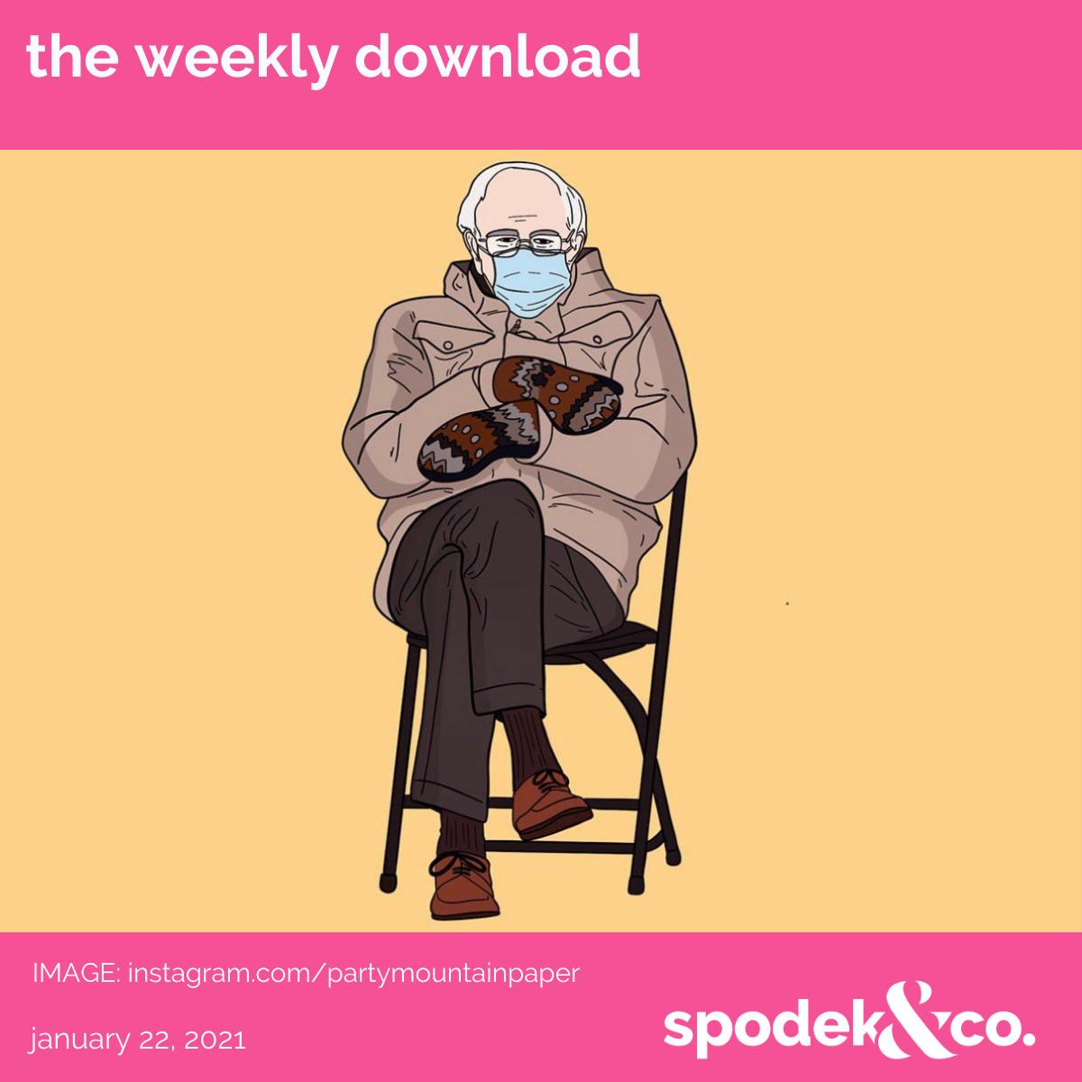 The Weekly Download – January 22, 2021