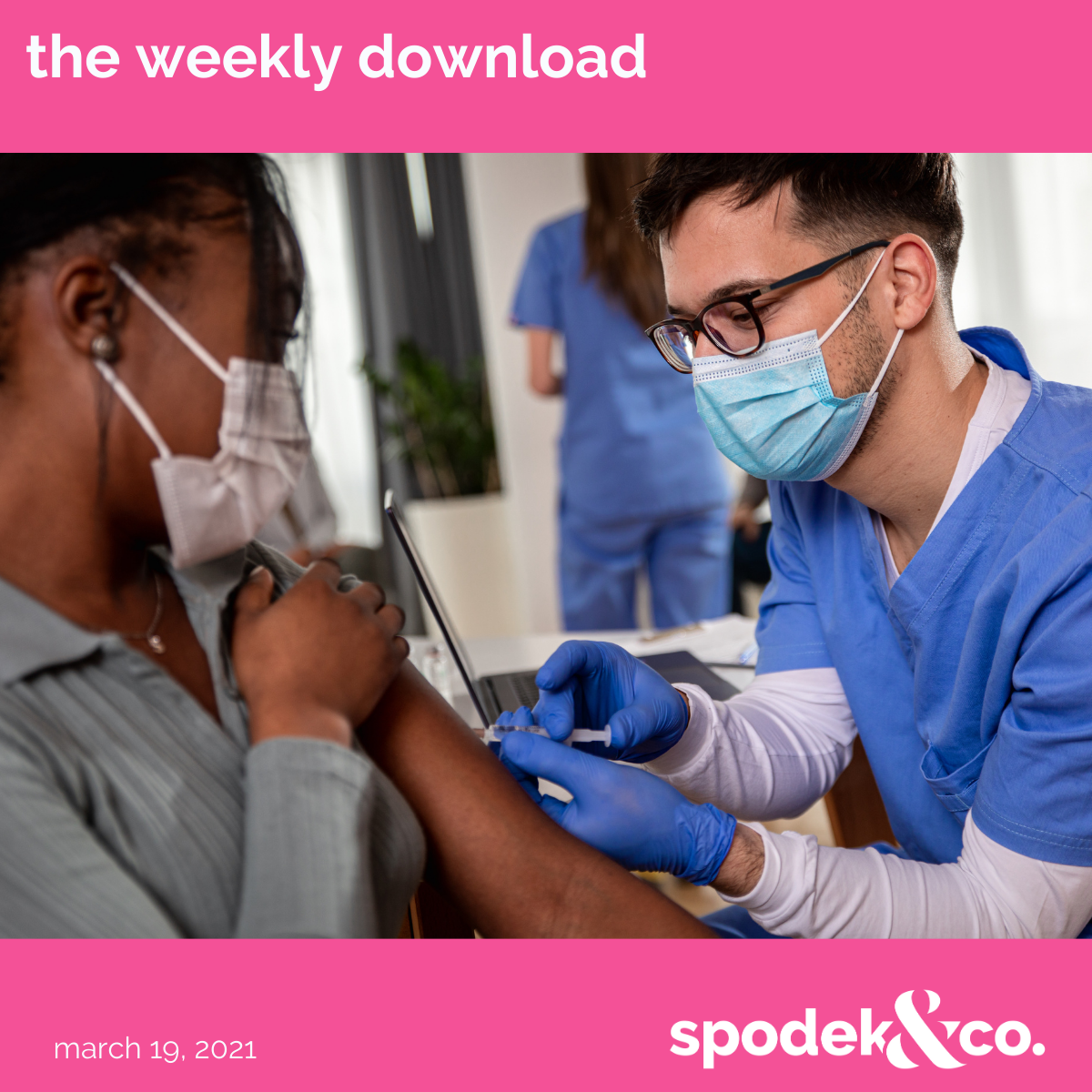 The Weekly Download – March 19, 2021