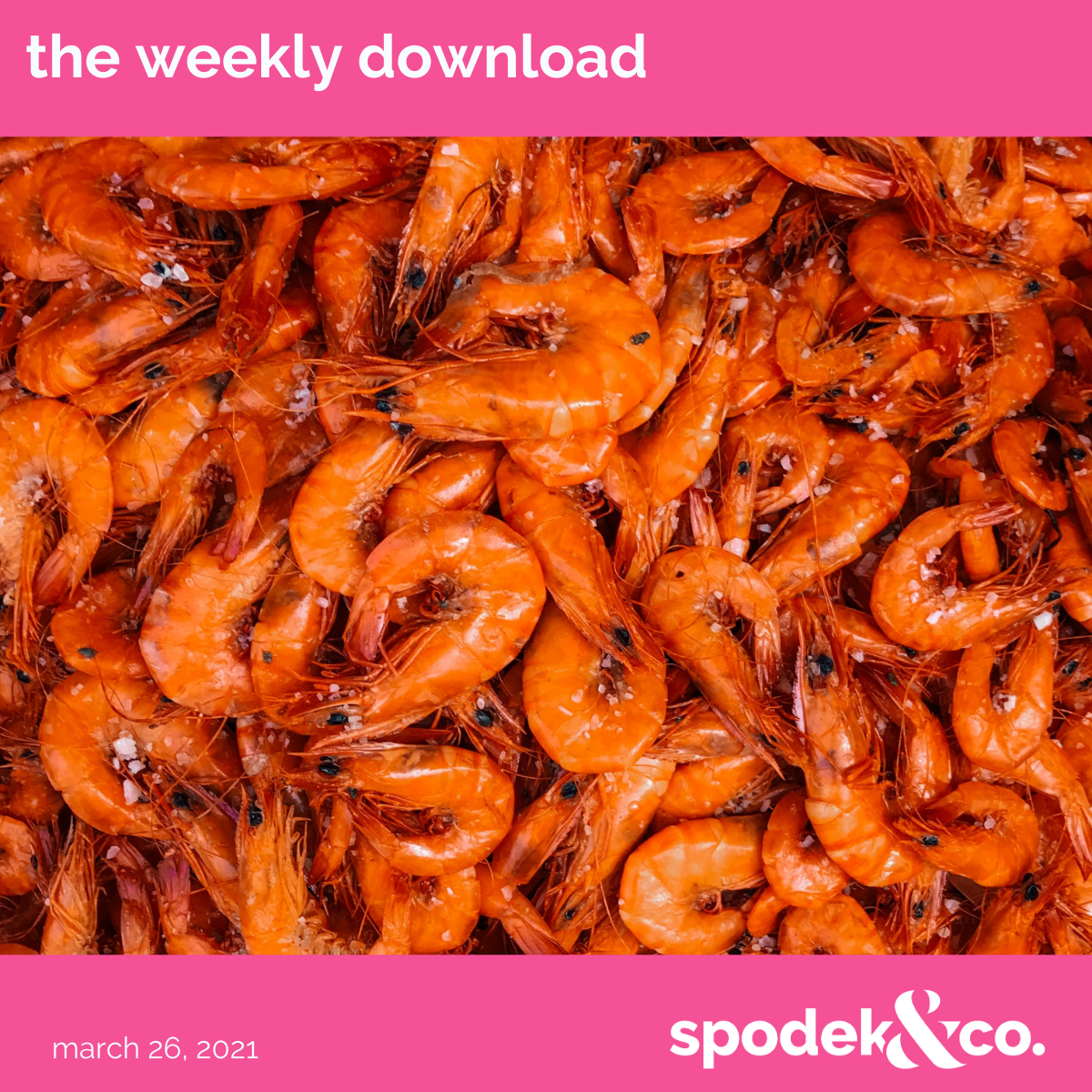 The Weekly Download – March 26, 2021