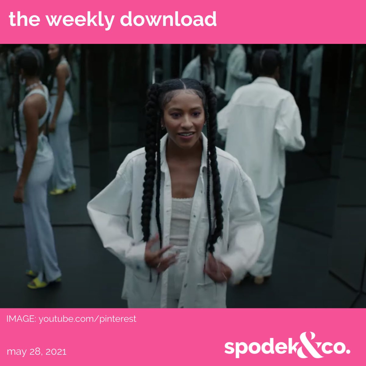 The Weekly Download – May 28, 2021
