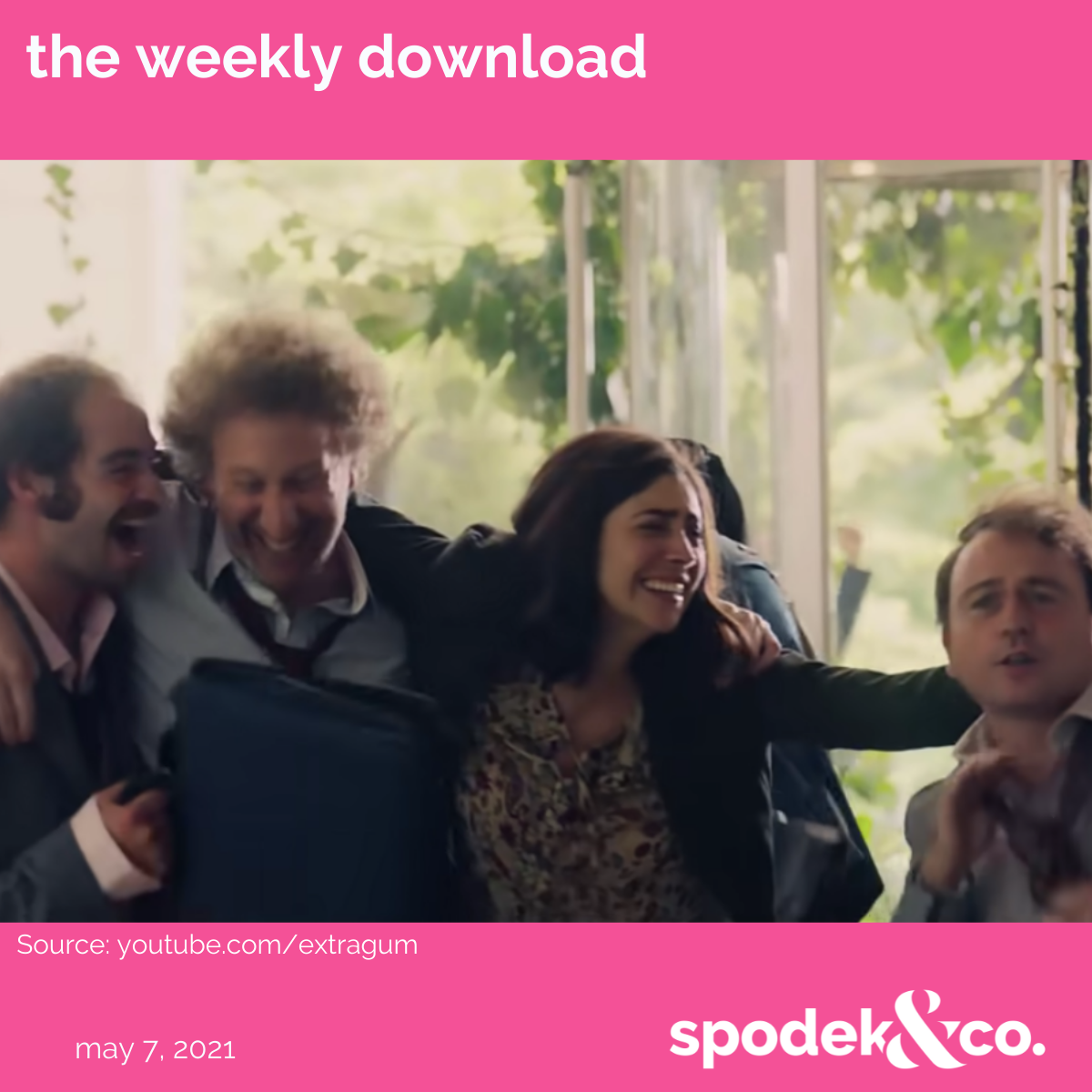 The Weekly Download – May 7, 2021