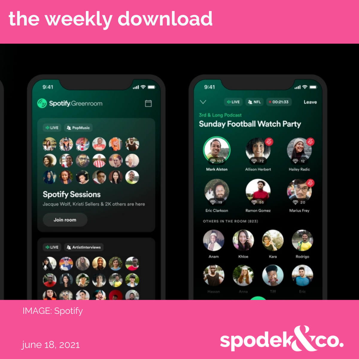 The Weekly Download – June 18, 2021
