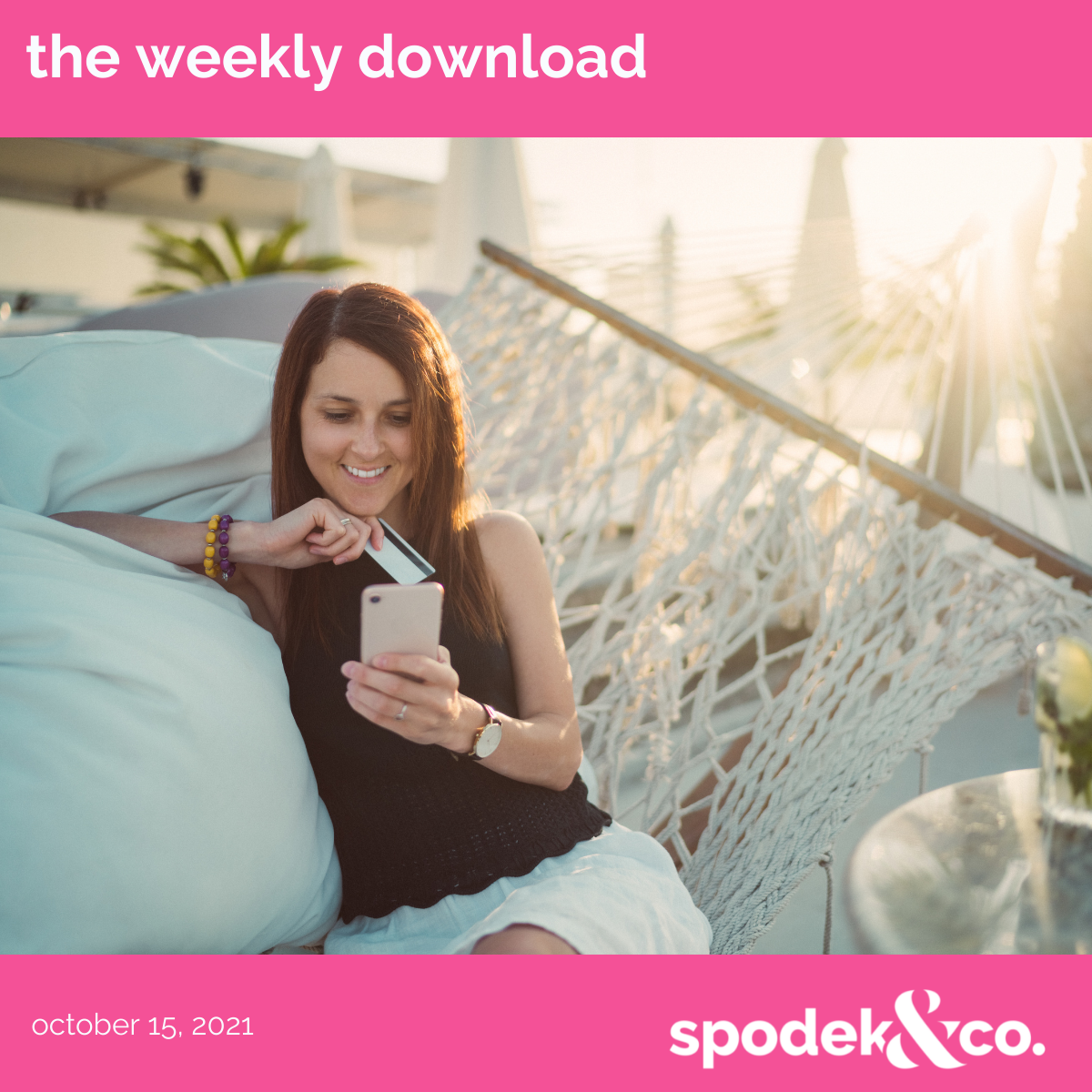 The Weekly Download – October 15, 2021